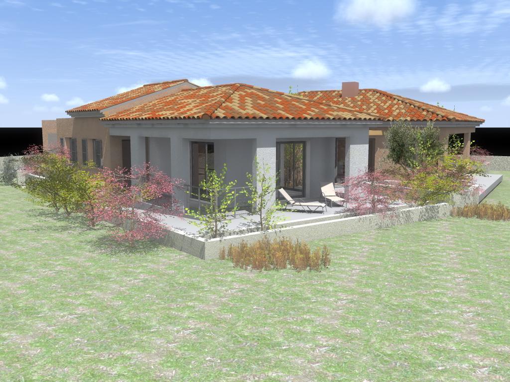 Construction Villa Neuve 160 M2 En Corse