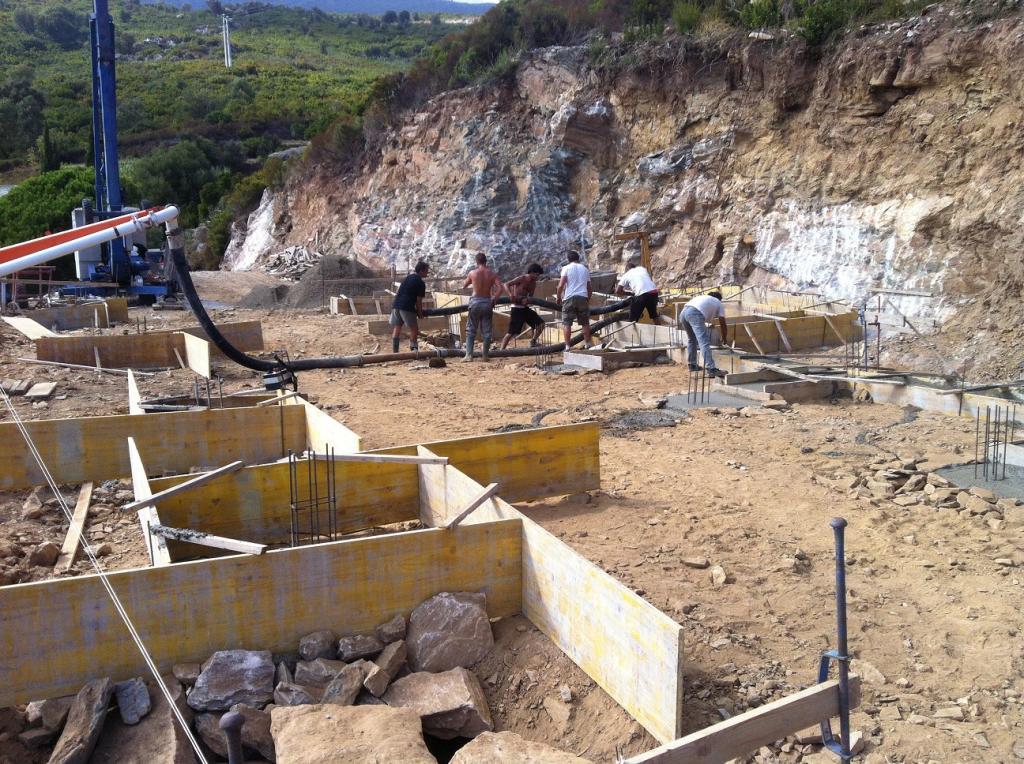 Construction villa sisco dans le cap corse for Construction de villa