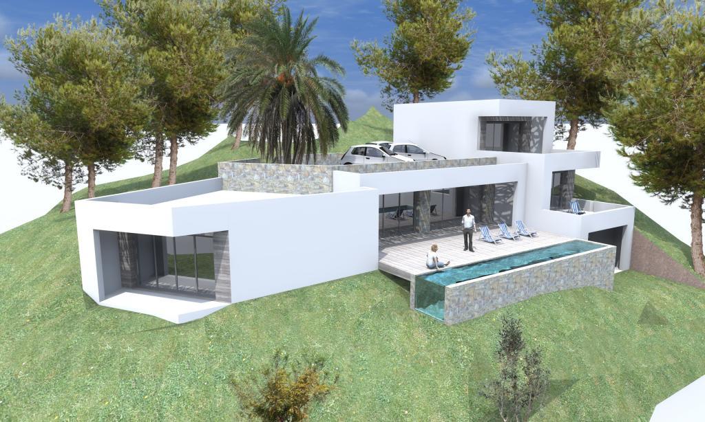 Construire maison corse for Constructeur maison contemporaine corse