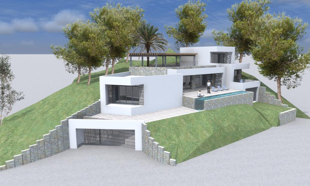 Construction villa 200 m2 en corse for Prix construction maison neuve 200m2